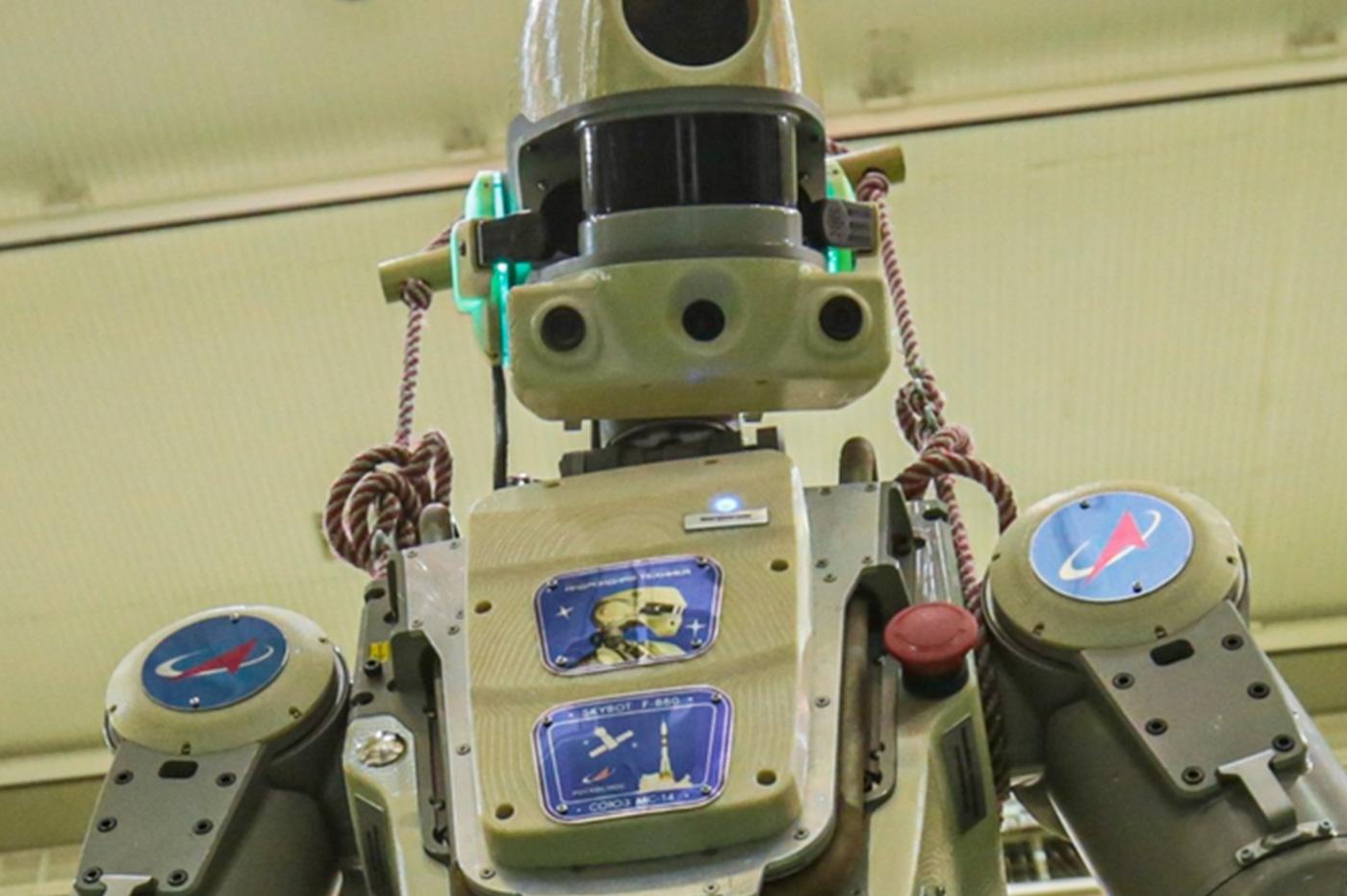 Voici Fiodor, le robot russe qui va aller dans l'espace