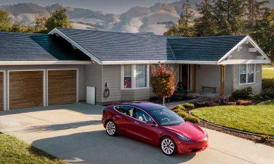 Tesla panneaux solaires