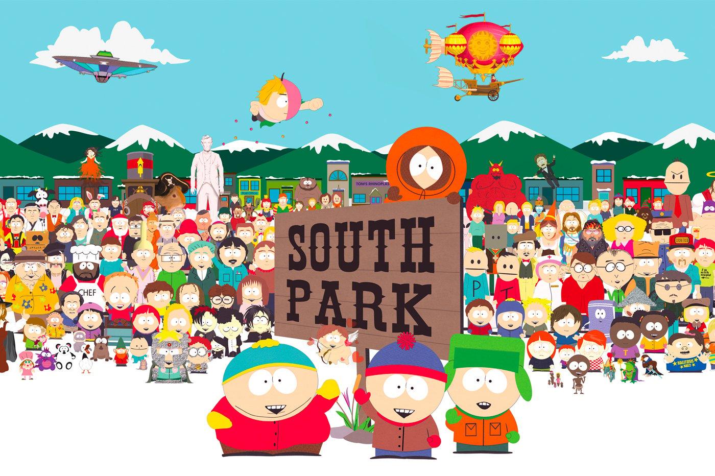 22 Saisons South Park Amazon Prime