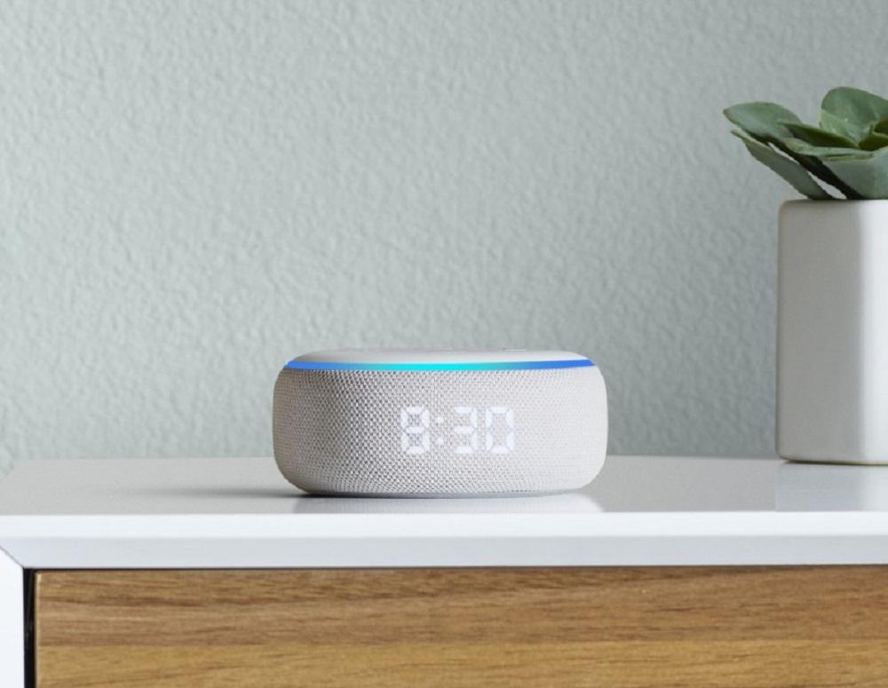 Amazon Echo septembre 2019