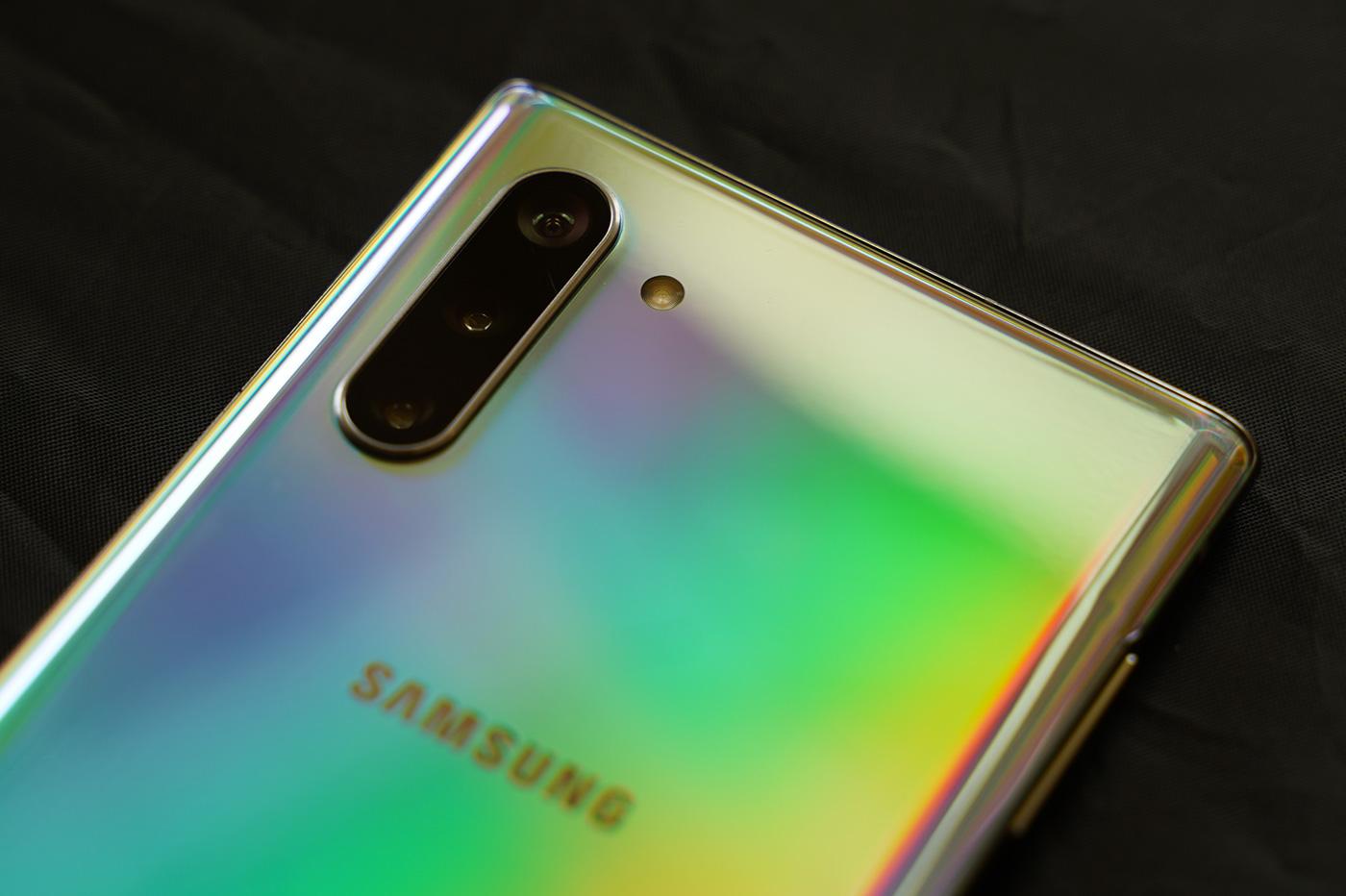 Capteur Photo Samsung Note 10
