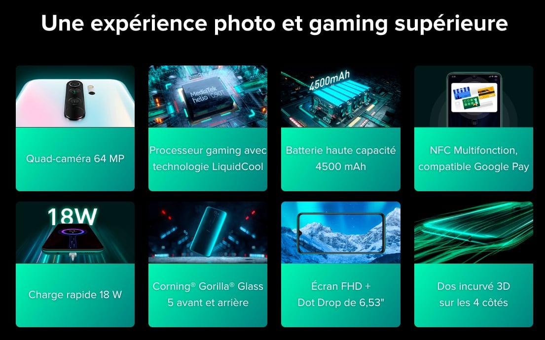 photo gaming Redmi Note 8 Pro
