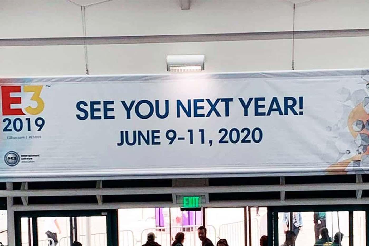 E3 2020 gros changements ?