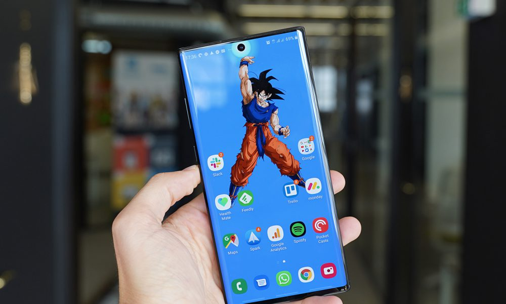 Test Samsung Note 10 Plus