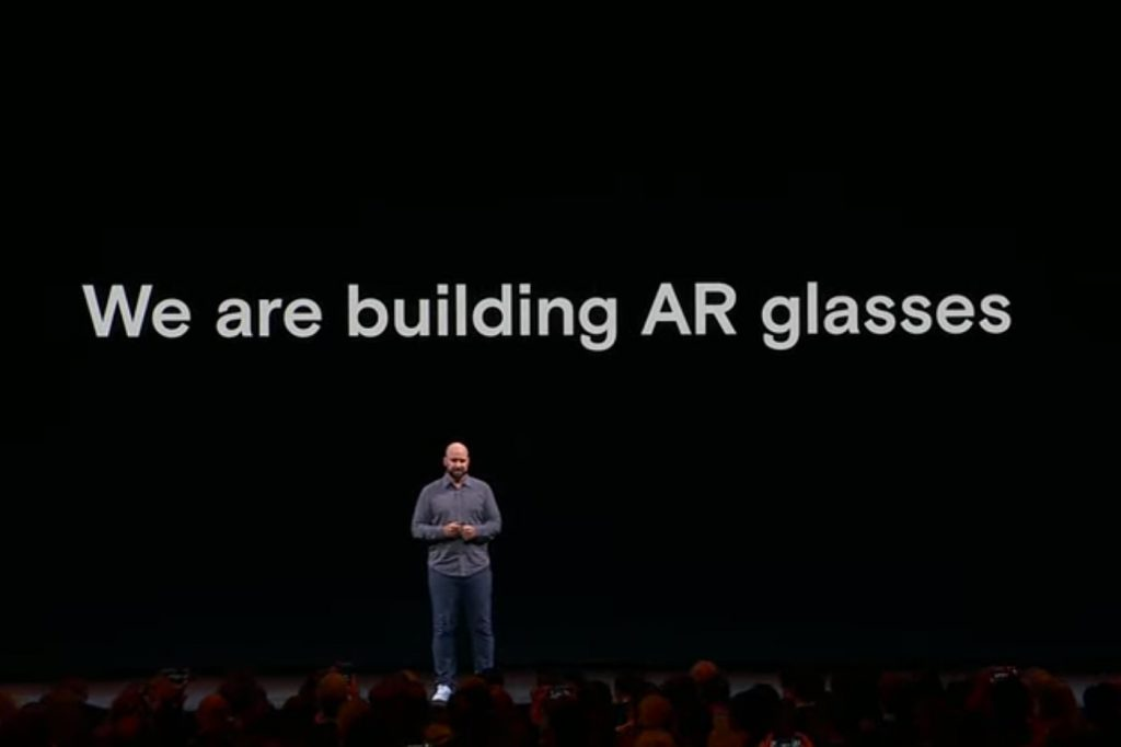 Facebook lunettes realite augmentee