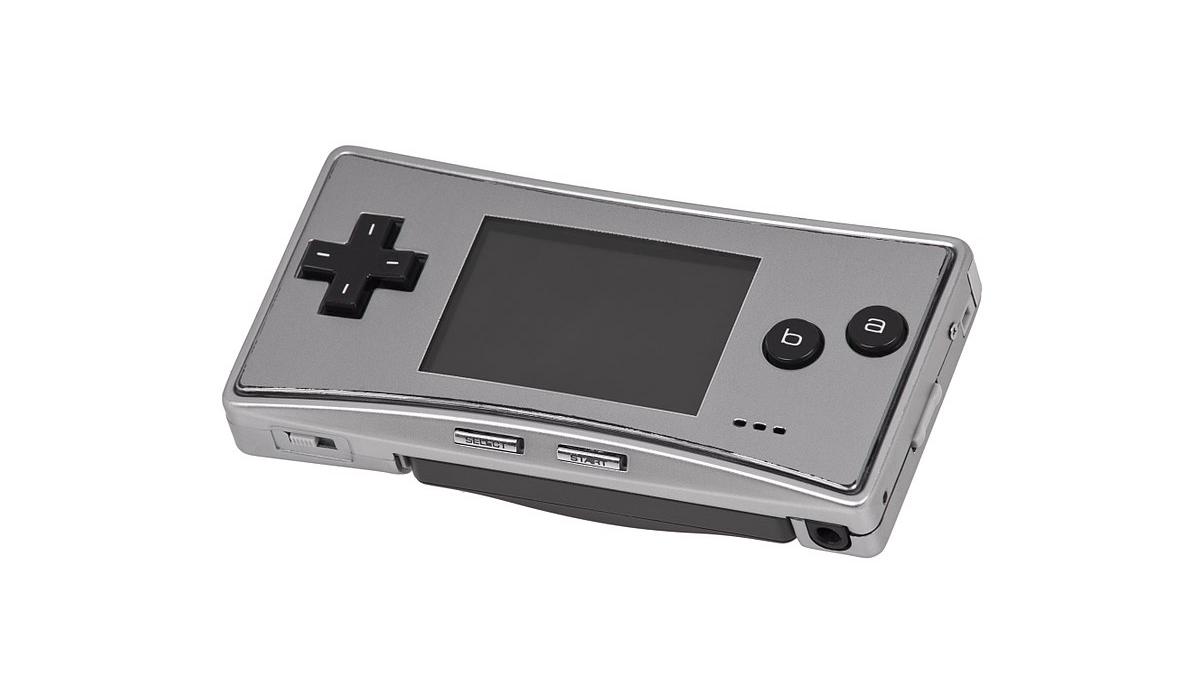 La GameBoy Micro de Nintendo