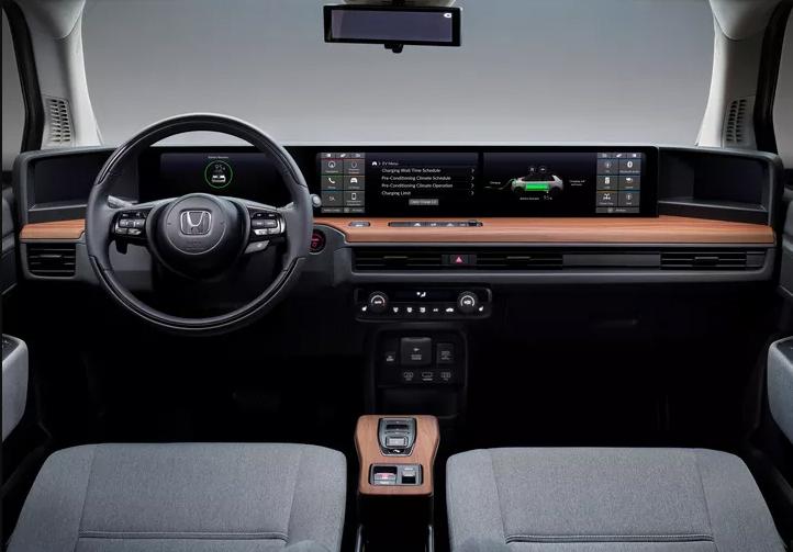 Honda-e-interieur