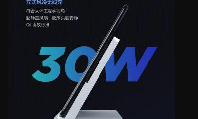 La recharge sans fil de Xiaomi