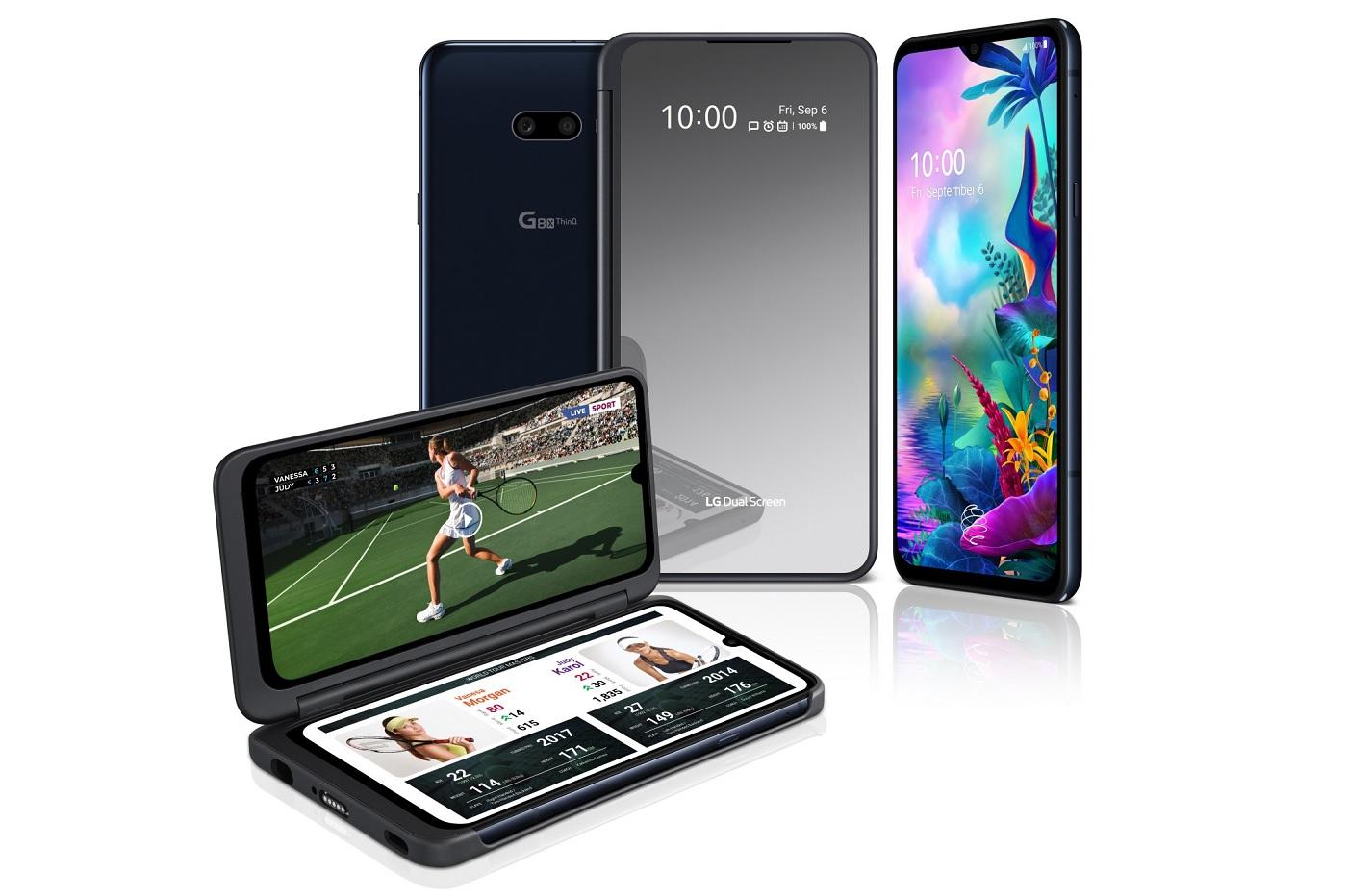 Le smartphone à deux écrans de LG