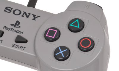 manette playstation x croix