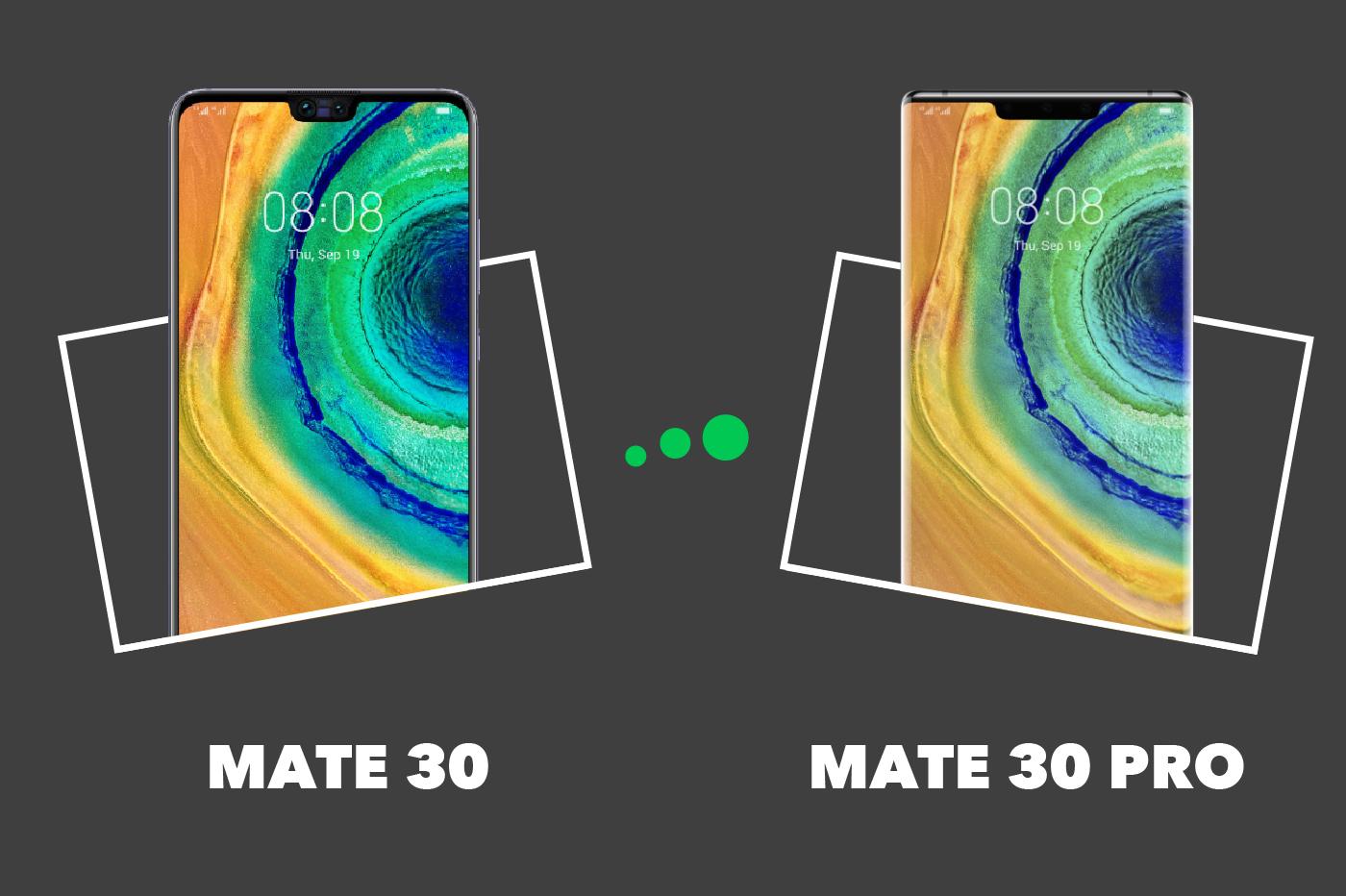 Comparatif Plan De Travail huawei mate 30 vs mate 30 pro : comparatif et différences