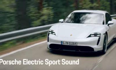 Son Porsche Taycan