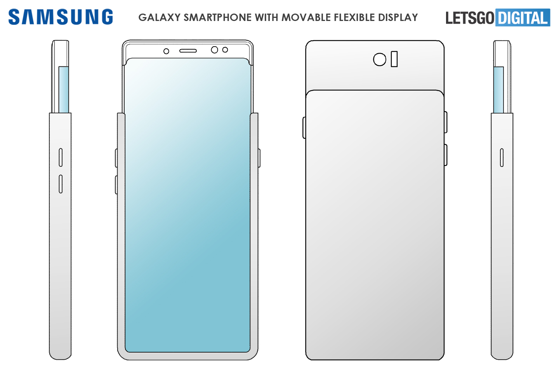 Samsung brevet smartphone écran extensible