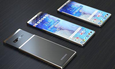 Samsung Smartphone Ecran Extensible