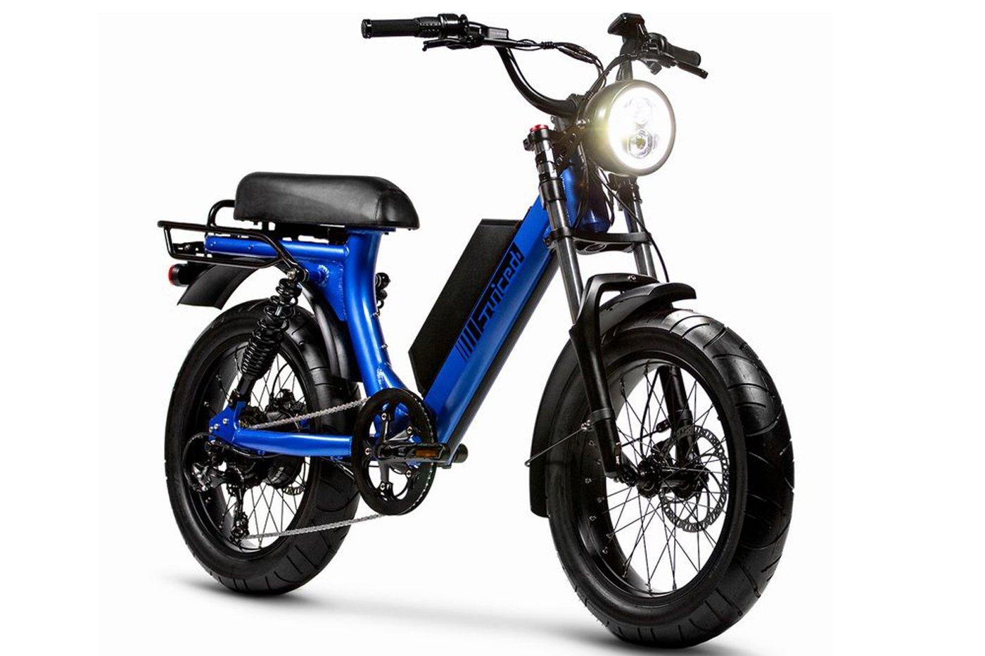 Juiced Bikes Scorpio : la mobylette 100% électrique (avec 120 km d'autonomie)