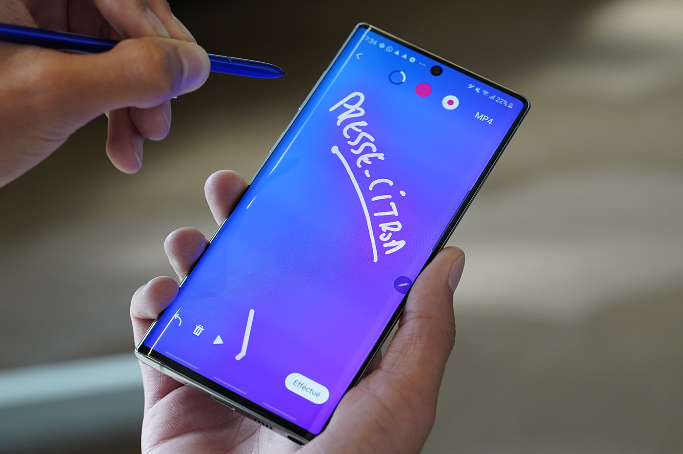 Stylet Note 10