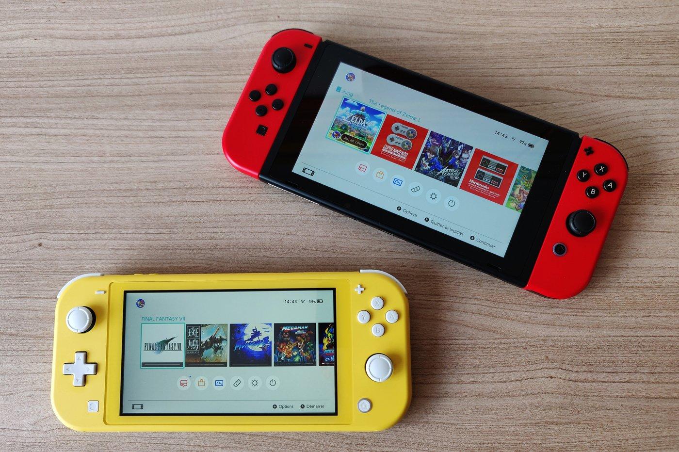 Nintendo Switch Lite : le bouton B a-t-il été « oublié » sur certains modèles…?
