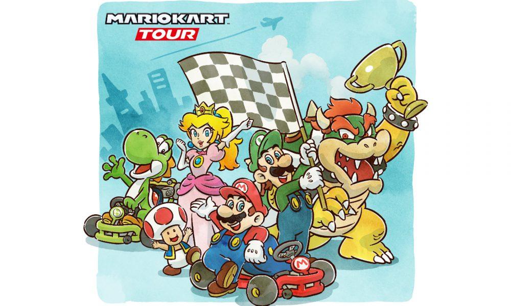 Test Mario Kart Tour iOS Android