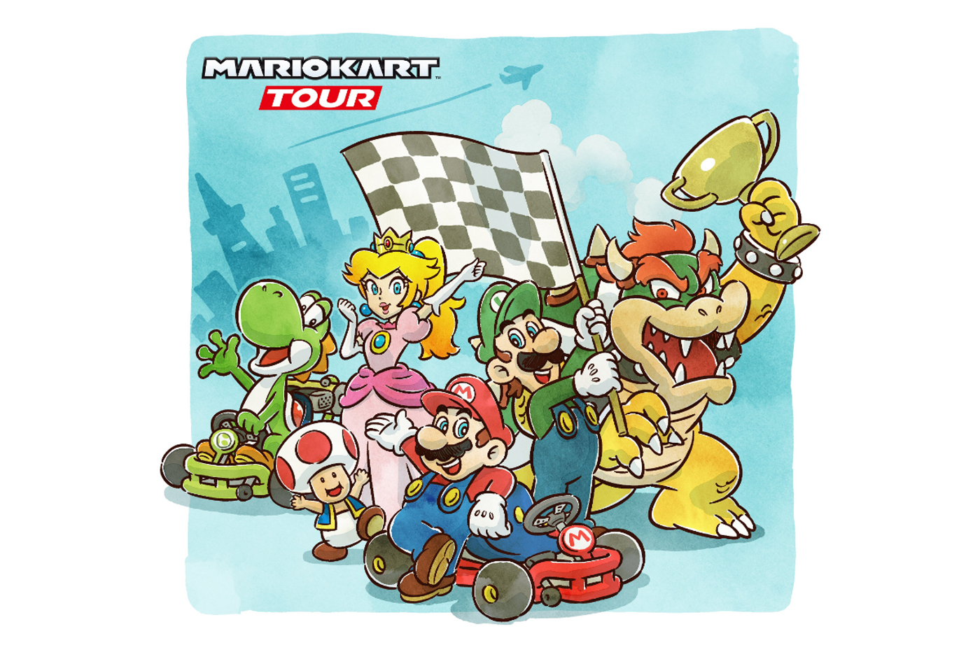 Test Mario Kart Tour iOS Android