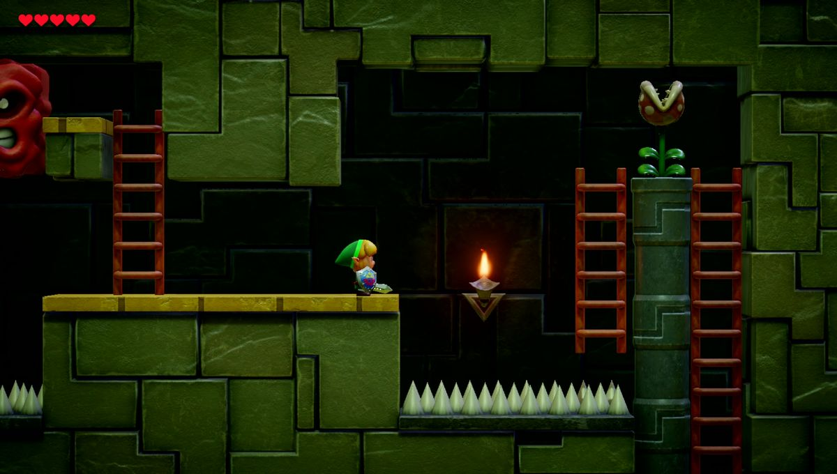 Test Zelda Link's Awakening Nintendo Switch