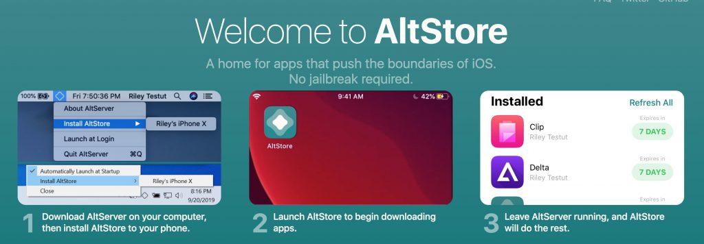 AltStore iOS