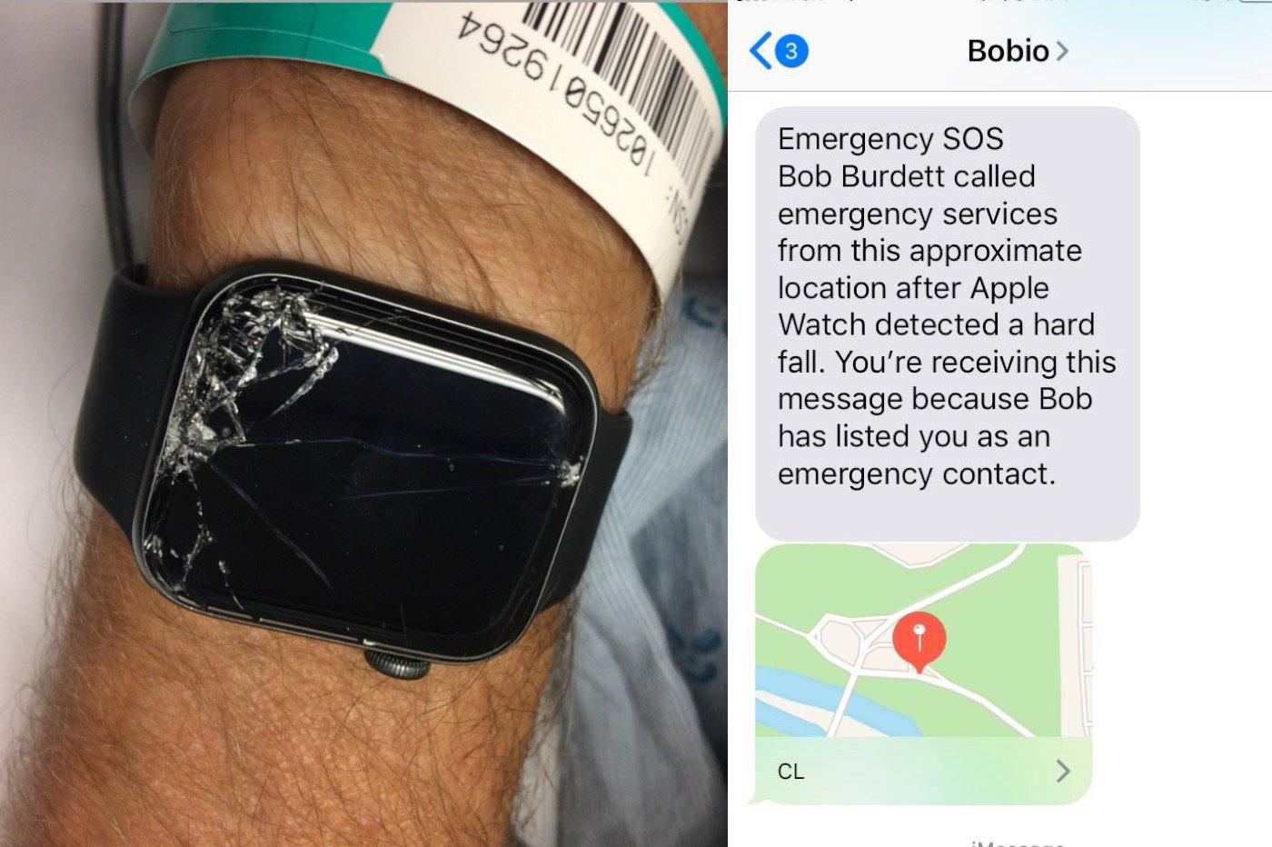 Apple Watch appel urgence