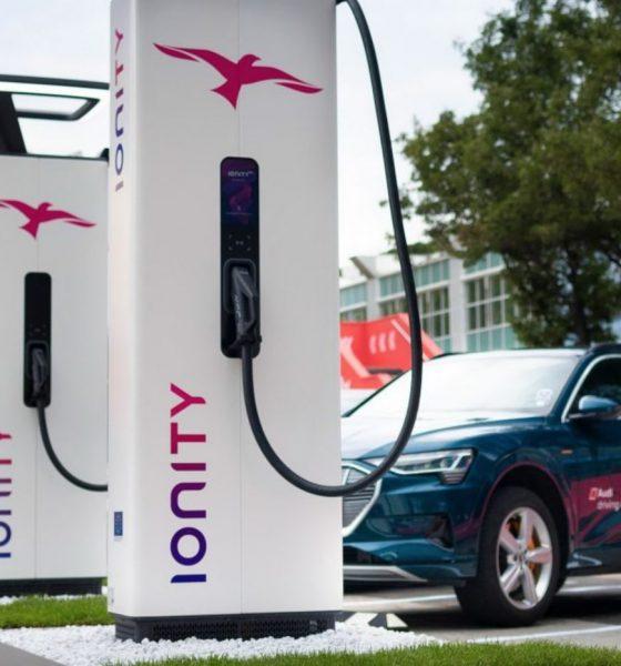 Ionity borne recharge