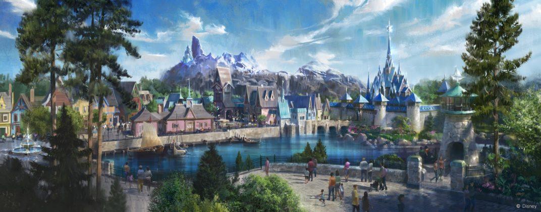 Espace Reine des Neiges Disneyland Paris