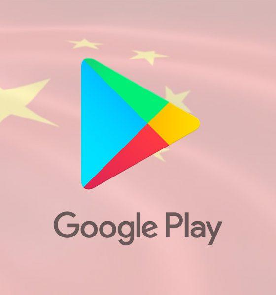 Google Play Store Chine
