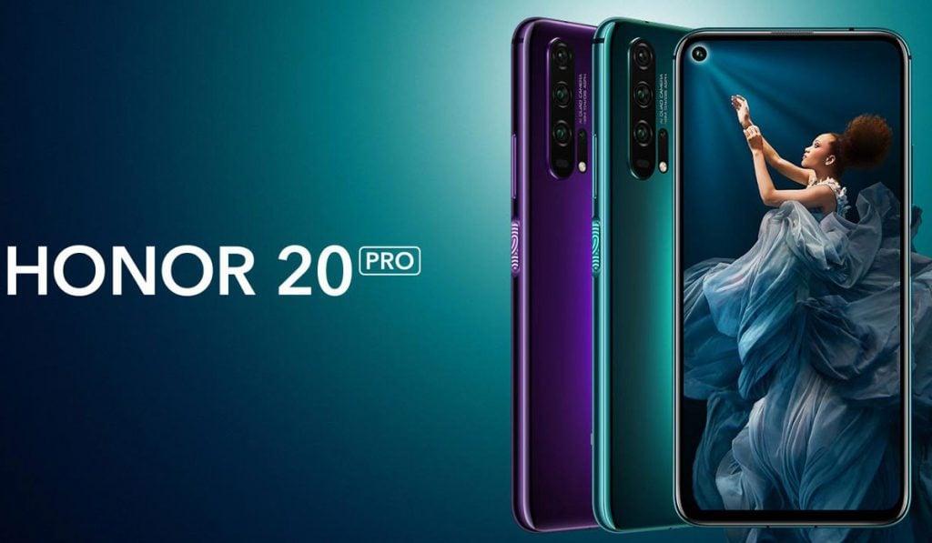 Honor 20 Pro infos