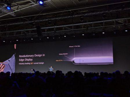 Huawei Mate 30 et Mate 30 écran incurvé