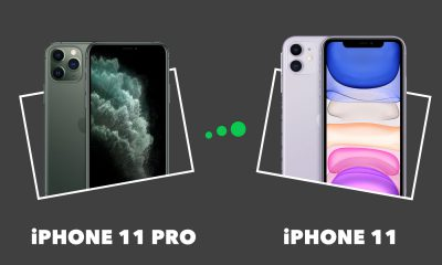 Comparatif iPhone 11 Pro vs iPhone 11