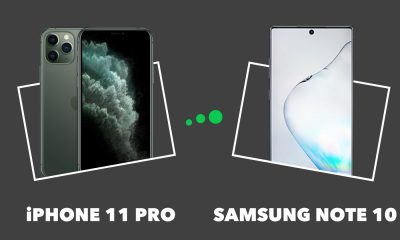 iPhone 11 Pro vs Samsung Note 10