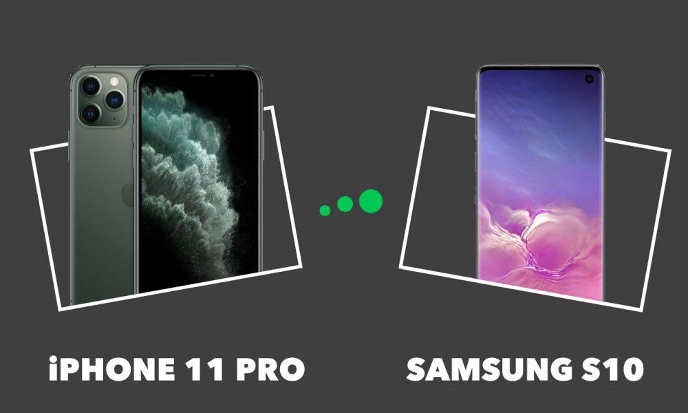 iPhone 11 Pro vs Samsung S10