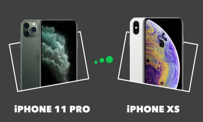Comparatif iPhone 11 Pro vs XS