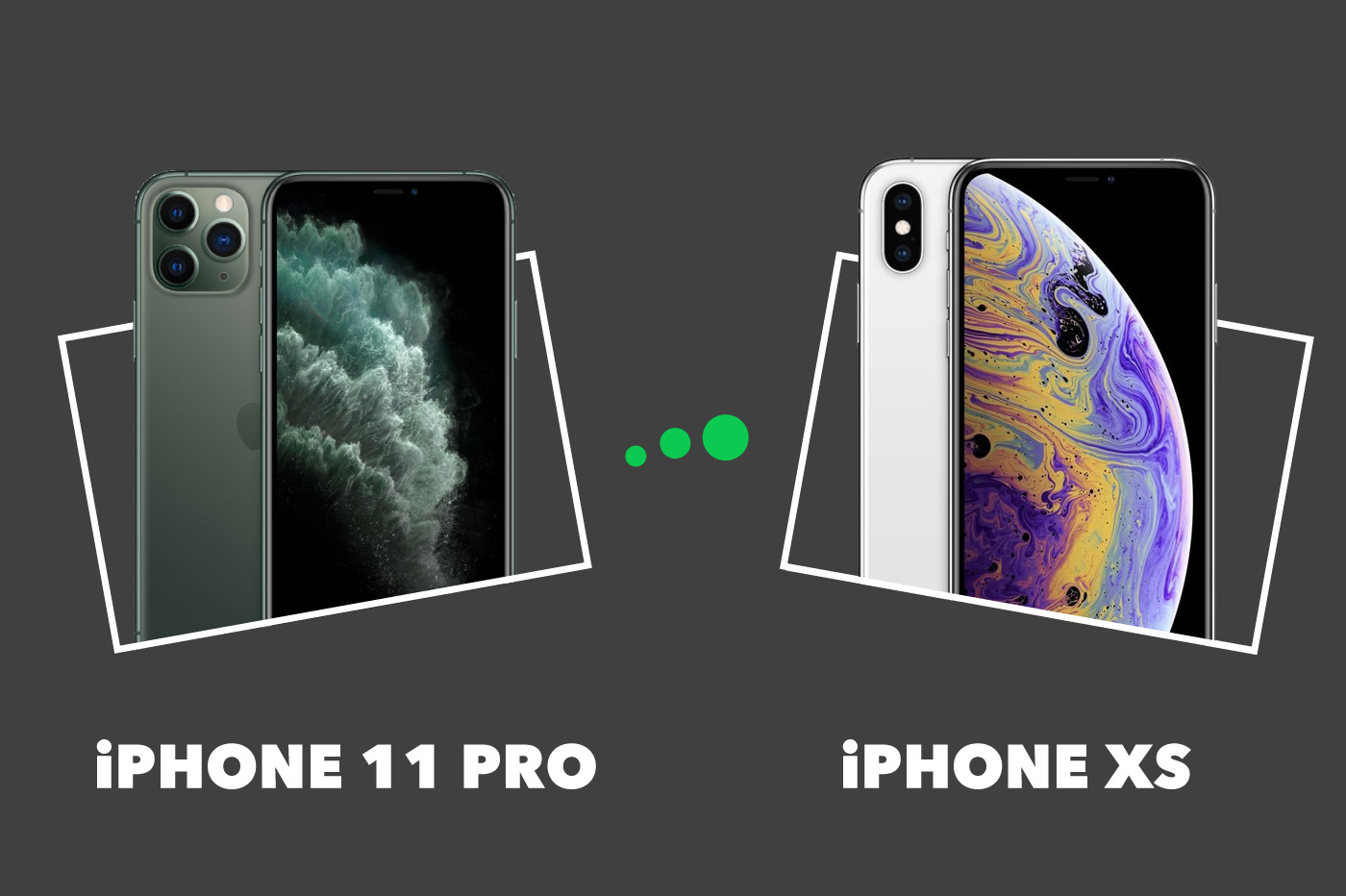 iPhone 11 Pro vs iPhone XS : comparatif complet et différences