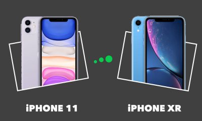 Comparatif iPhone 11 vs iPhone XR