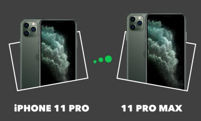 iPhone 11 Pro Max vs iPhone 11 Pro