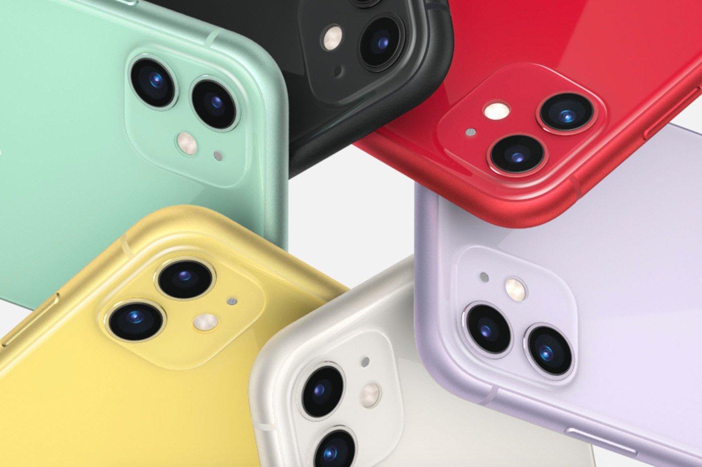 Coloris de l'iPhone 11