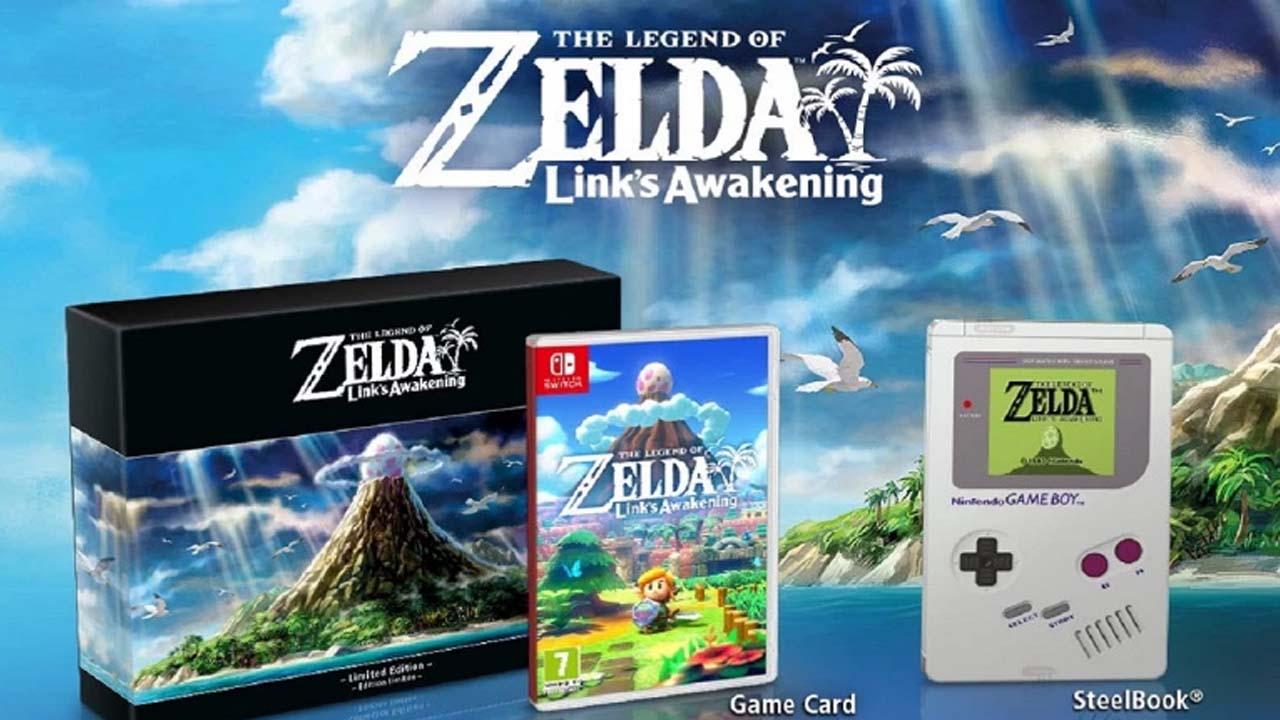 The Legend of Zelda Links Awakening Limited Edition