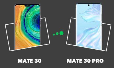Mate 30 vs Mate 30 Pro