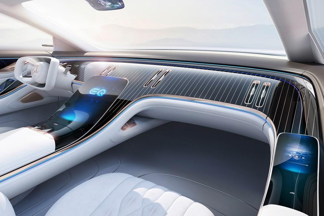 Habitacle EQS Concept Mercedes