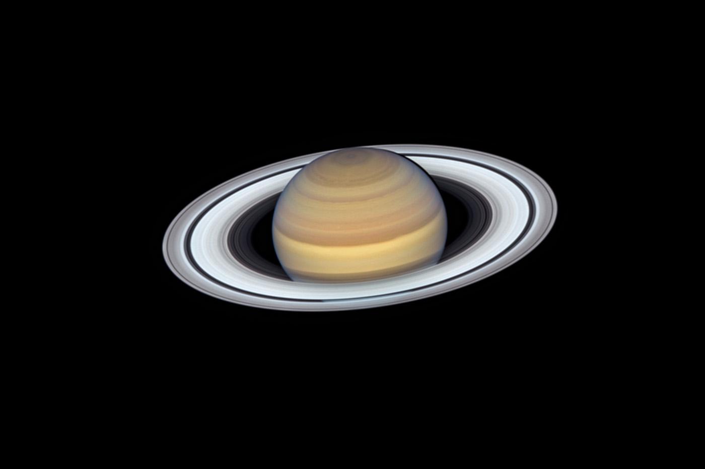 La NASA capture les anneaux de Saturne, avant qu'ils disparaissent