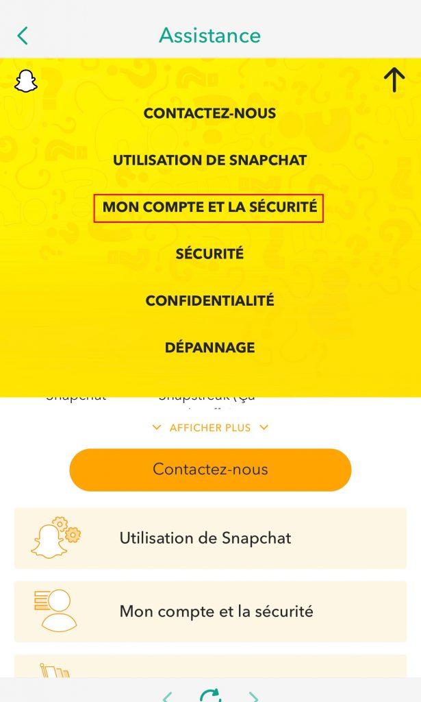 Ta bort snapchat-konto och säkerhet