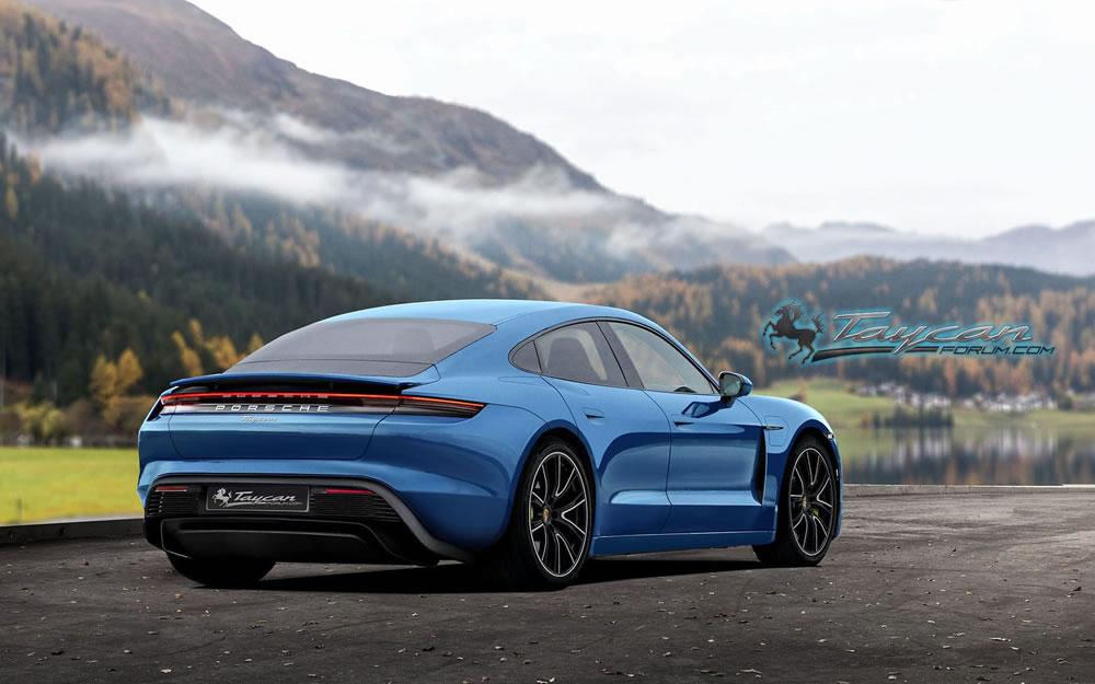Toutes les photos de la sportive 4 portes électrique — Porsche Taycan (officiel)