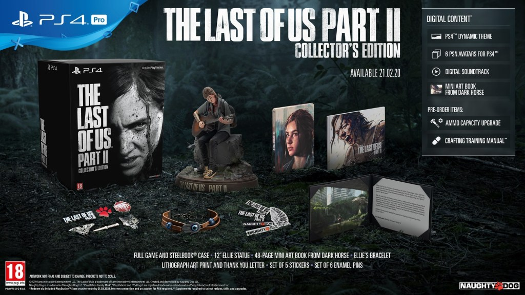 The Last Of Us Part II Edition Collector