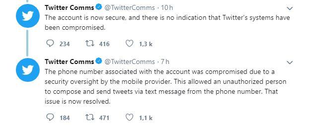 Twitter patron piratage