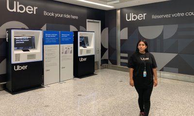 Uber borne libre service