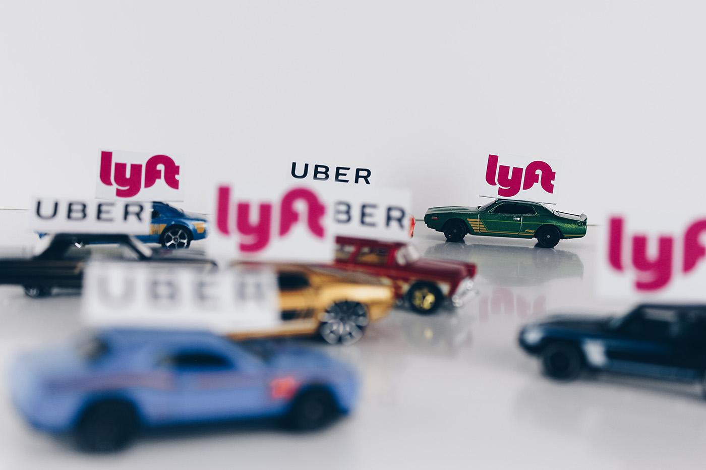 Uber Lyft Californie