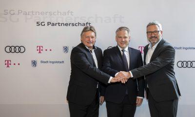 Audi partenaire du réseau 5G